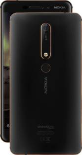 Nokia 6.1 32GB 3GB RAM Black Copper Mobile