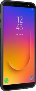 Samsung Galaxy J6 (Samsung SM-J600GZKHINS) 64GB 4GB RAM Black Mobile