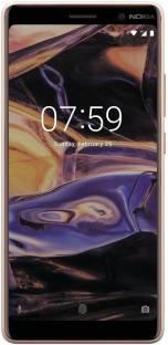 Nokia 7 Plus (Nokia TA-1046) 64GB 4GB RAM White Copper Mobile