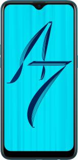 OPPO A7 (64 GB, 3 GB RAM) Glaze Blue Mobile
