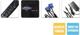 Zebronics ZEB-A 15.4 Inch LED Monitor