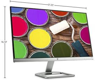 HP 24ea X6W27AA 23.8-inch LED Monitor, Natural Silver