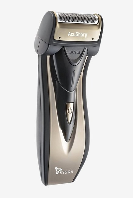 Syska AcuSharp SHR626 Reciprocating Shaver (Black/Gunmetal)