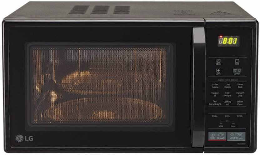 LG MC2146BV 21 Lts Convection Microwave Oven Black