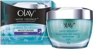 Olay White Radiance Advanced Brightening Night Essence Moisturizer 50gm