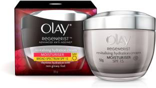Olay Regenerist Advanced Anti-Aging Revitalising Hydration Skin Cream SPF 15 50gm