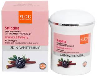 VLCC Snigdha Skin Whitening Day Cream with SPF 25, 50 GM