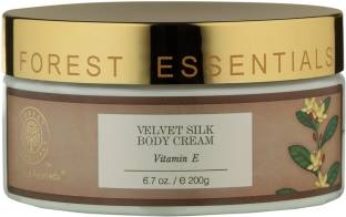 Forest Essentials Velvet Silk With Vitamin E Body Cream (200gm)