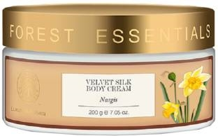 Forest Essentials Nargis Velvet Silk Body Cream (200gm)