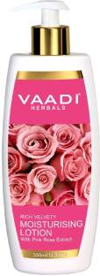 Vaadi Herbals Vaadi Herbals Moisturising Lotion With Pink Rose Extracts 350ml