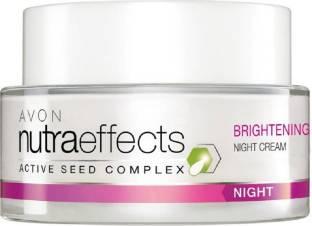 Avon Nutraeffects Active Seed Complex Brightening Night Cream 50 gm