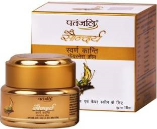 Patanjali Saundarya Swarn Kanti Fairness Cream 15 GM