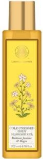 Forest Essentials Madurai Jasmine And Mogra Cold Pressed Body Massage Oil (200ml)