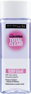 Maybelline Clean Express Total Clean Express Eye & Lip Makeup Remover Makeup Remover, 70 ml