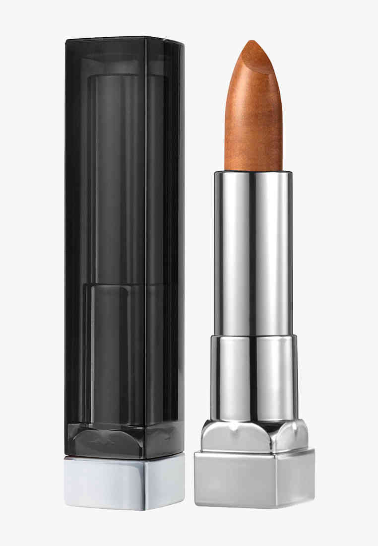 Maybelline Color Sensational Matte Metallic Lipstick, Pure Gold 10