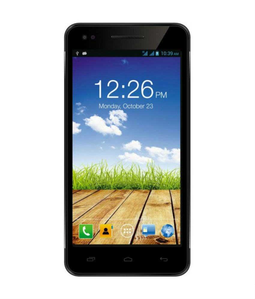Micromax Canvas 4 Plus A315 (Micromax A315) 16GB Black Mobile
