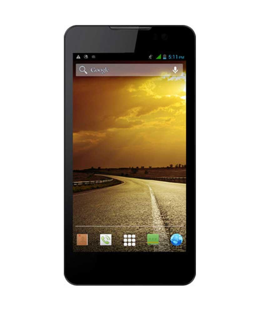 Micromax Canvas Blaze HD EG116 (Micromax EG116) 4GB Black Mobile