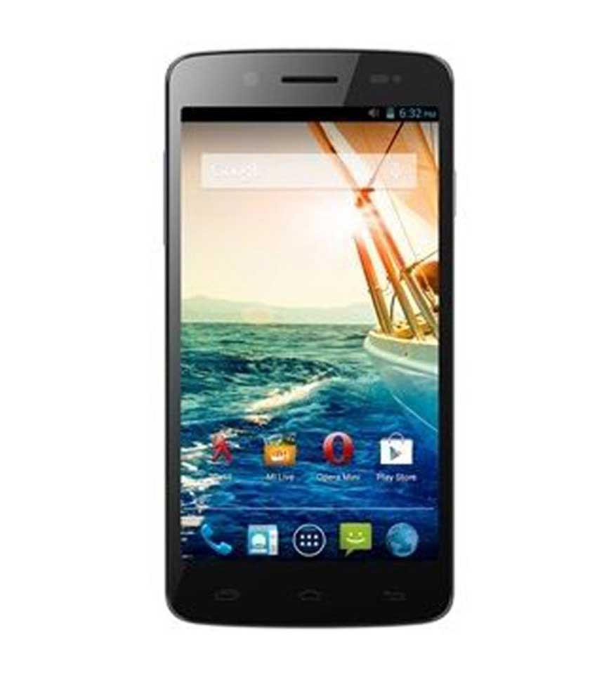 Micromax Canvas Elanza 2 A121 4 GB Black Mobile