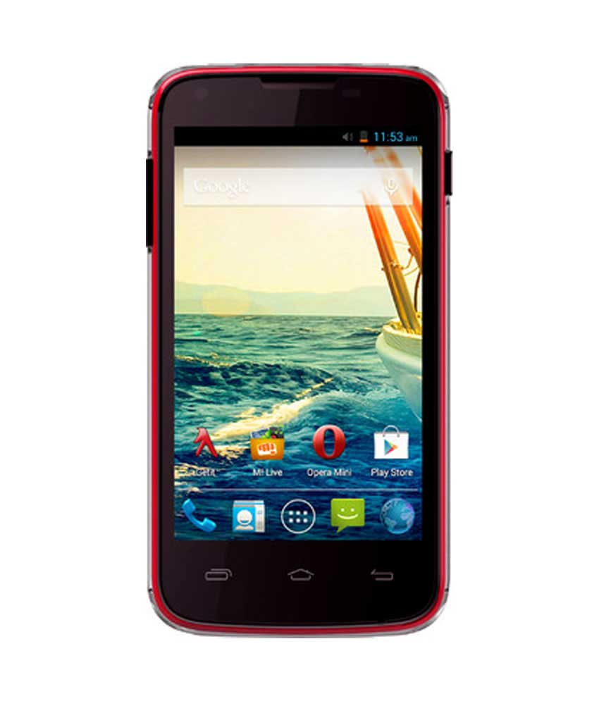 Micromax Canvas Unite A092 Red Mobile