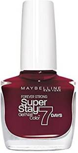 Maybelline Couture Super Stay Nail Enamel 287 Midnight Red Rouge