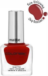 Colorbar Matte Nail Paint, 12 ML Love Bug