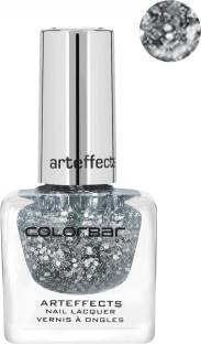 Colorbar Arteffects Retro Silver Nail Paint 10, 12 ML