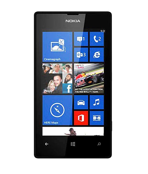 Nokia Lumia 520 Black Mobile