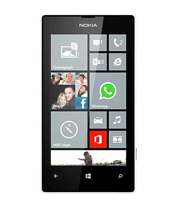 Nokia Lumia 520 White Mobile