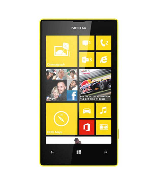 Nokia Lumia 520 Yellow Mobile