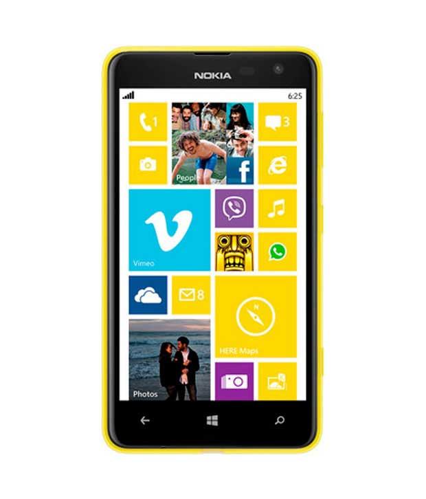 Nokia Lumia 625 Yellow Mobile