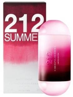 Carolina Herrera 212 Summer EDT For Women- 60 ml