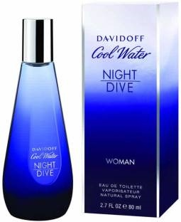 Davidoff Cool Water Night Dive EDT For Women - 80 ml