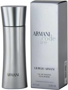 Giorgio Armani Code Ice EDT For Men- 75 ml