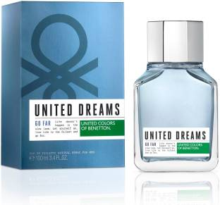 United Colors of Benetton United Dreams GO FAR Perfume For Men 100 ml