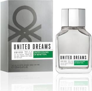 Benetton United Dreams Aim High Eau de Toilette For Men - 100 ml