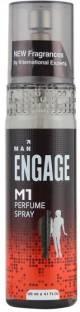 Engage M1 Perfume Spray for Men, 120 ML