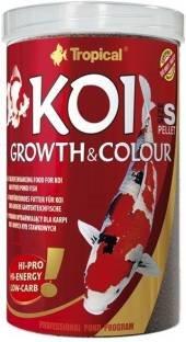 Tropical Koi Growth & Color Dry Fish Food 1000 ml