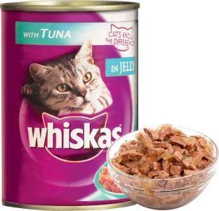 Whiskas Tuna In Jelly Cat Food 400 gm