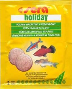 Sera Holiday Fish Food (2 Tablets)