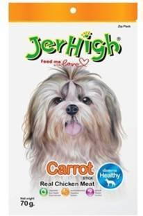 Jerhigh Carrot Stix Dog Treats (70 Gm, Pack of 3)