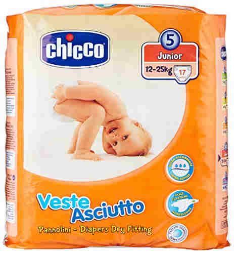 Chicco Veste Asciutto L Diapers (17 Pieces)