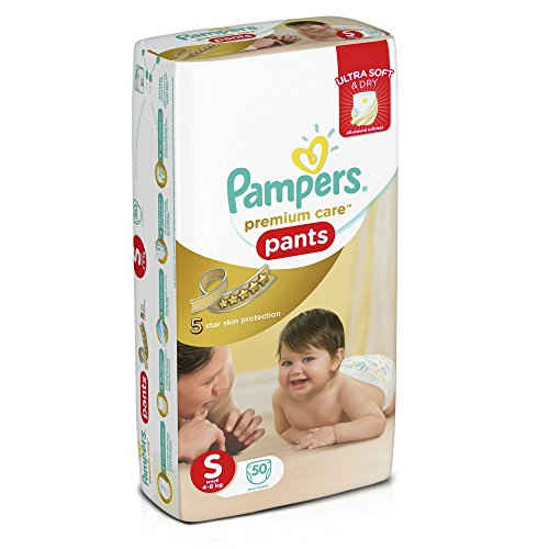Pampers Premium Care S Diapers (50 Pieces)