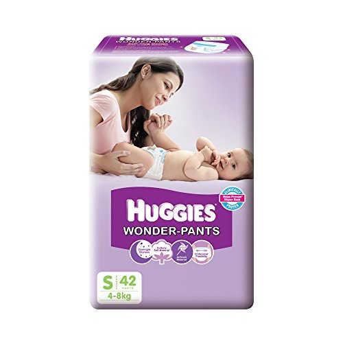 Huggies Wonder Pants Baby Diapers, S 42 Pieces
