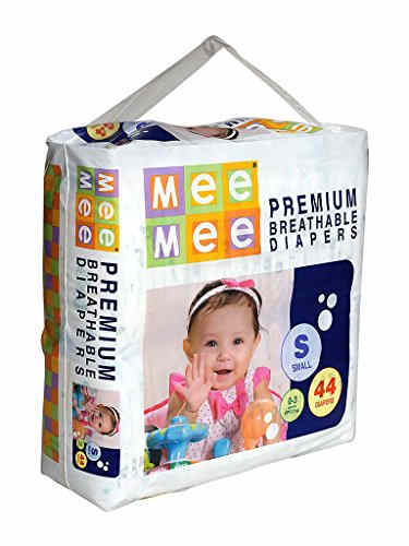 Mee Mee Premium Breathable Baby S Diapers (44 Pieces)
