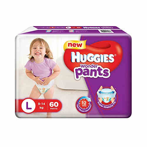 Huggies Wonder Pants L Diapers (60 Pieces)