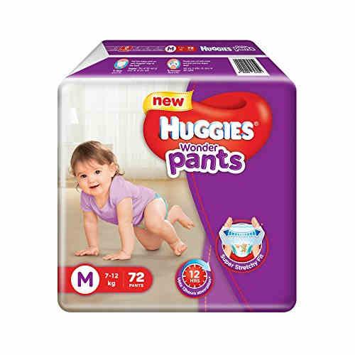 Huggies Wonder Pants M Diapers (72 Pieces)