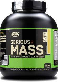 Optimum Nutrition (ON) Serious Mass Weight Gainer Powder (2.72Kg, Banana)