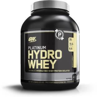 Optimum Nutrition Platinum Hydro Whey (1.58Kg / 3.48lbs, Vanilla)