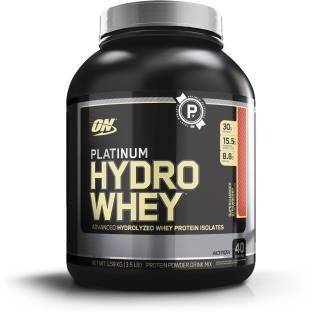 Optimum Nutrition Platinum Hydro Whey (1.58Kg / 3.48lbs, Strawberry)