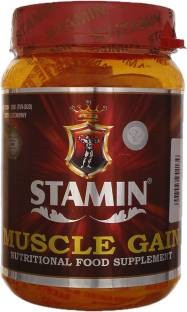 Stamin Nutrition Musle Gainer (1Kg, Strawberry)